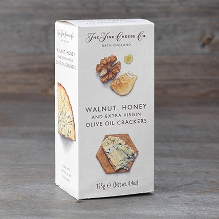 Walnut, Honey & Olive Oil Crackers 125g