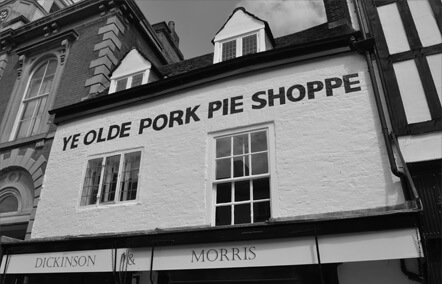 The Pork Pie Shoppe - Melton Mowbray